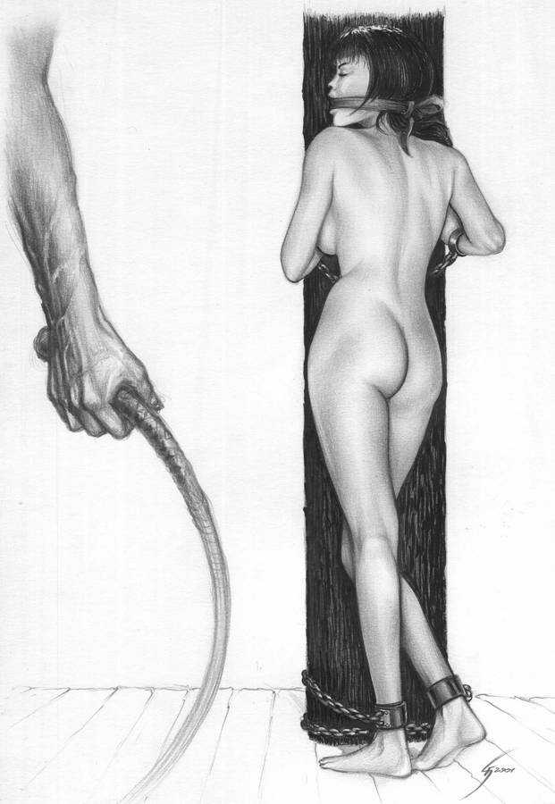 Галерея сайта Пытки и казни - Рабыни // Slave Art/Harder%28art%29-F.