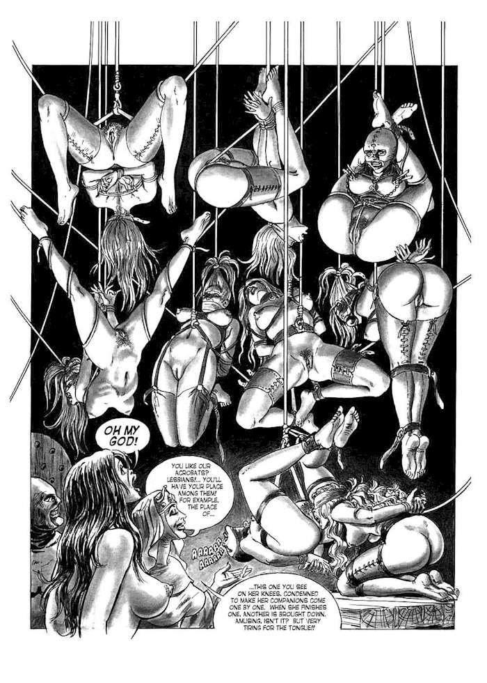 Redhead erotic bdsm cartoon photos female
