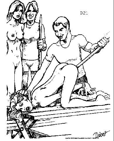 porno-posadili-na-derevyanniy-kol