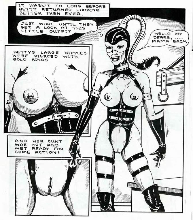 Art bondage comic sex