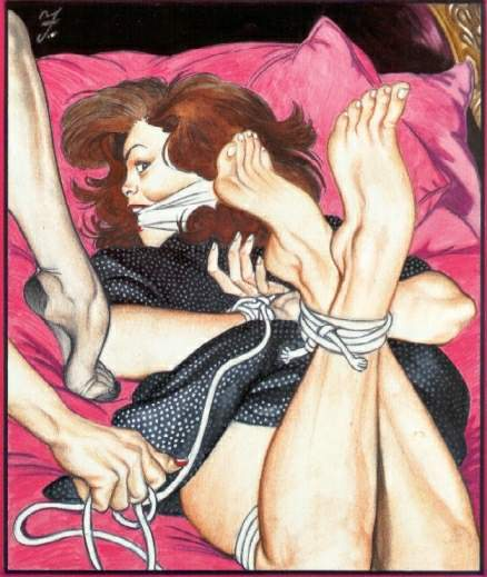Share your Lesbian bondage artwork opinion