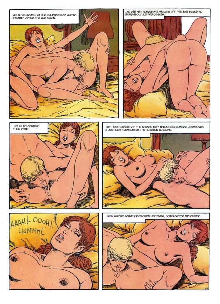 мастурбация комиксы