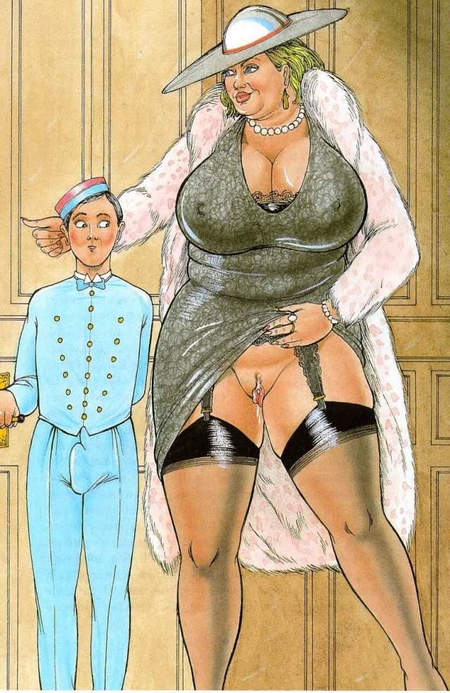порно комиксы толстушки